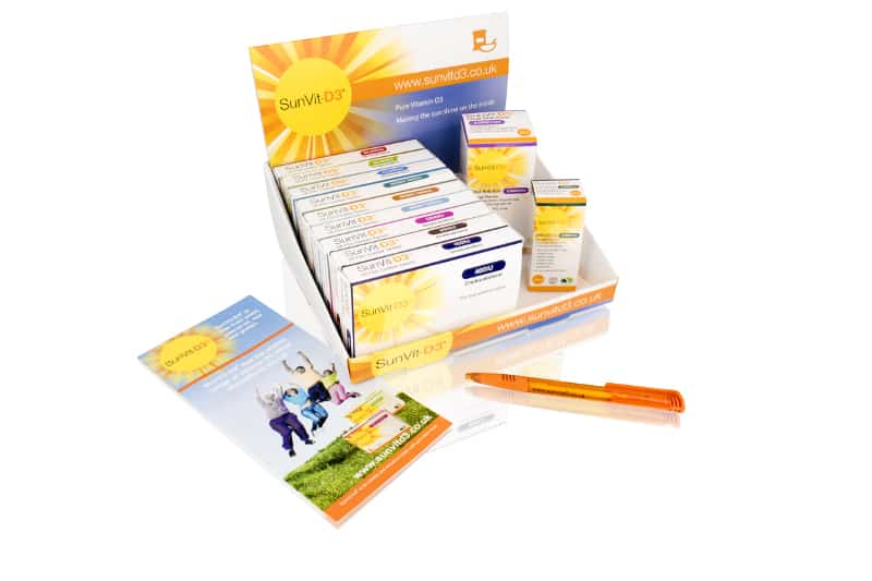 SunVit-D3 - Vitamin D3 Supplement