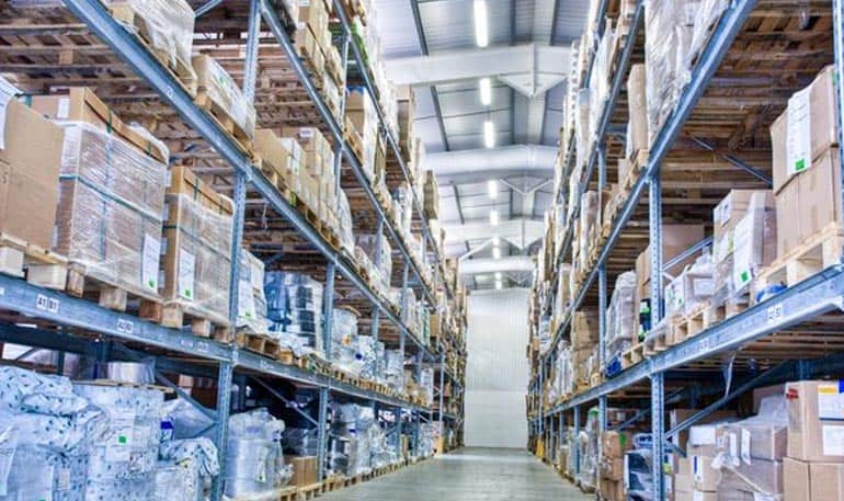 Warehouses in Pharma Industries.